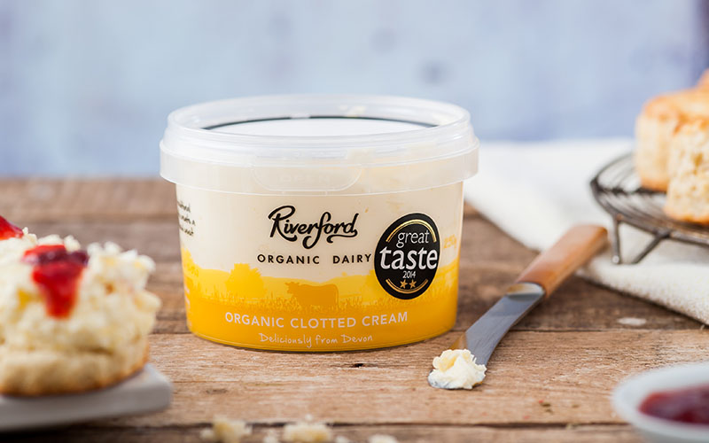A picture of Organic Clotted Cream from Riverford Organic Dairy