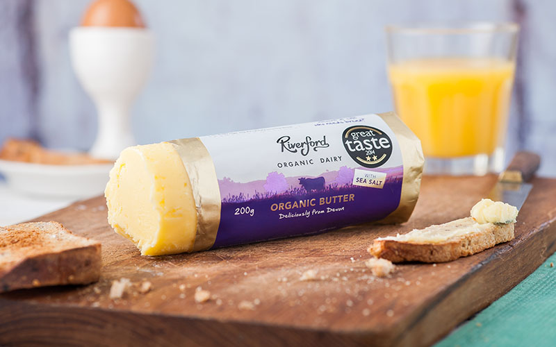 A picture of Organic Butter from Riverford Organic Dairy